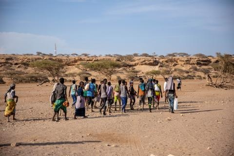$45 million needed to support migrants in the Horn of Africa
