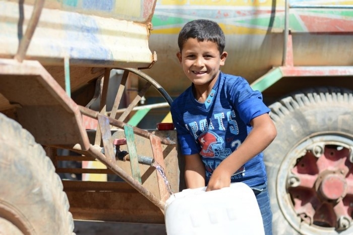 UNICEF provides safe drinking water to rural villages in Syria
